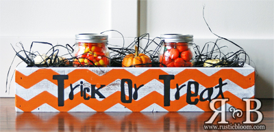Centerpiece Box - Trick or Treat