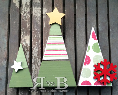 Christmas Tree Block Set