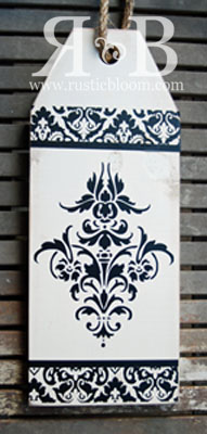 Tag Single - Damask smaller image