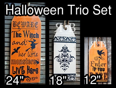 Tag Trio - Halloween Trio Set